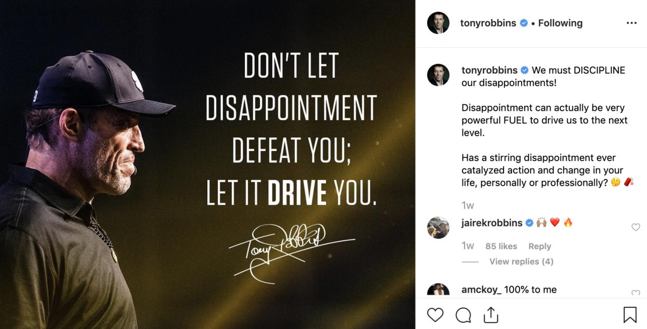 Tony Robbins Dubai