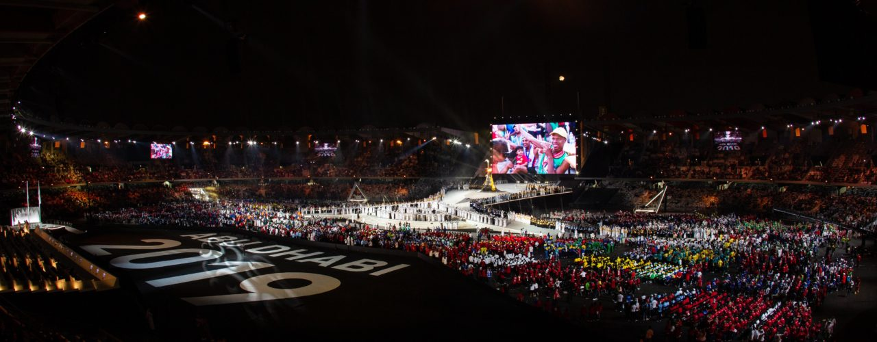 Special Olympics closing ceremony