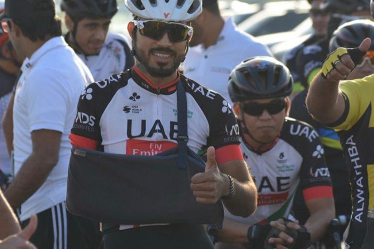Meet the Emirati cyclist racing to the 2020 Summer Paralympic Games