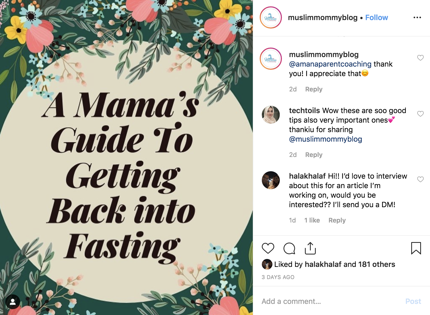 Muslim Mommy Blog