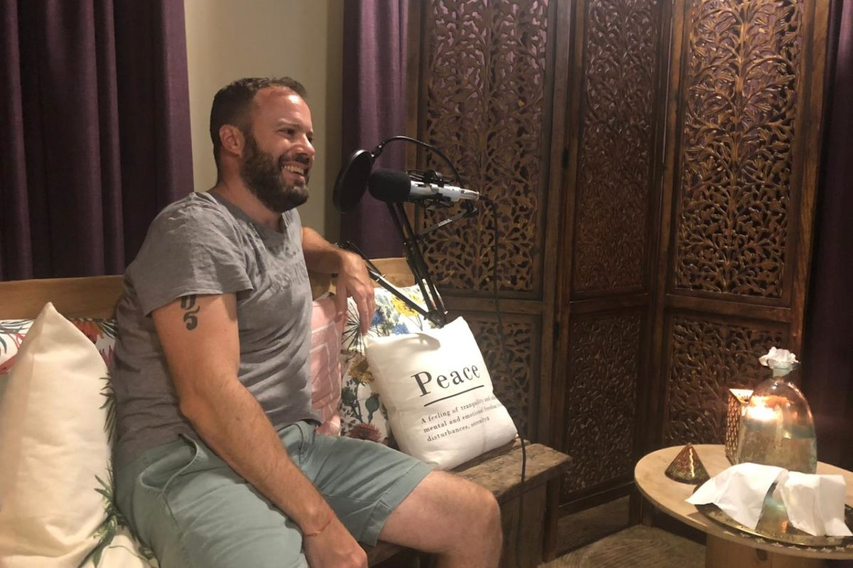 This new UAE podcast explores what it means to become Enlightened Abroad