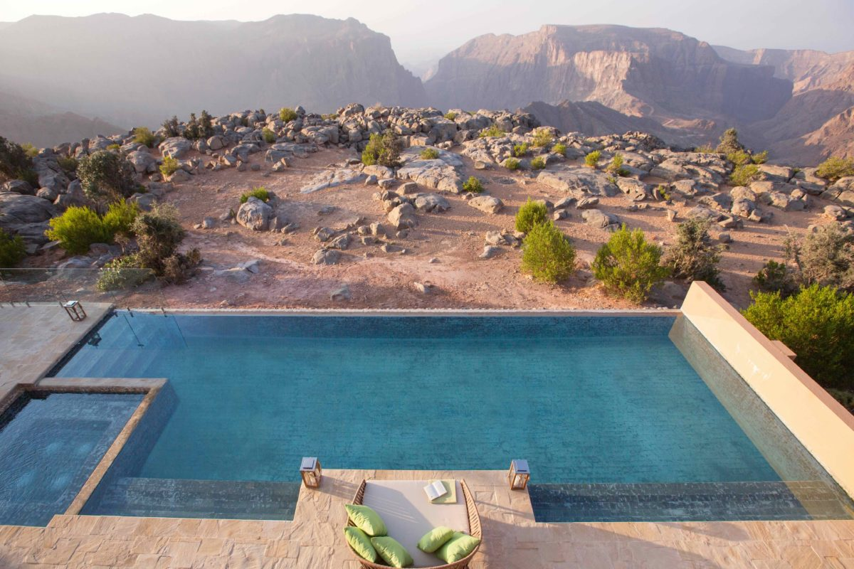Escape to the cool mountains of Oman at Anantara Al Jabal Al Akhdar