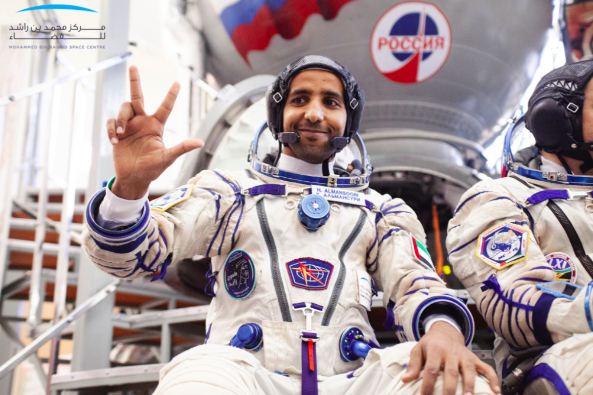 Here's how the Emirati astronauts get fit and focused for the UAE's first mission to space