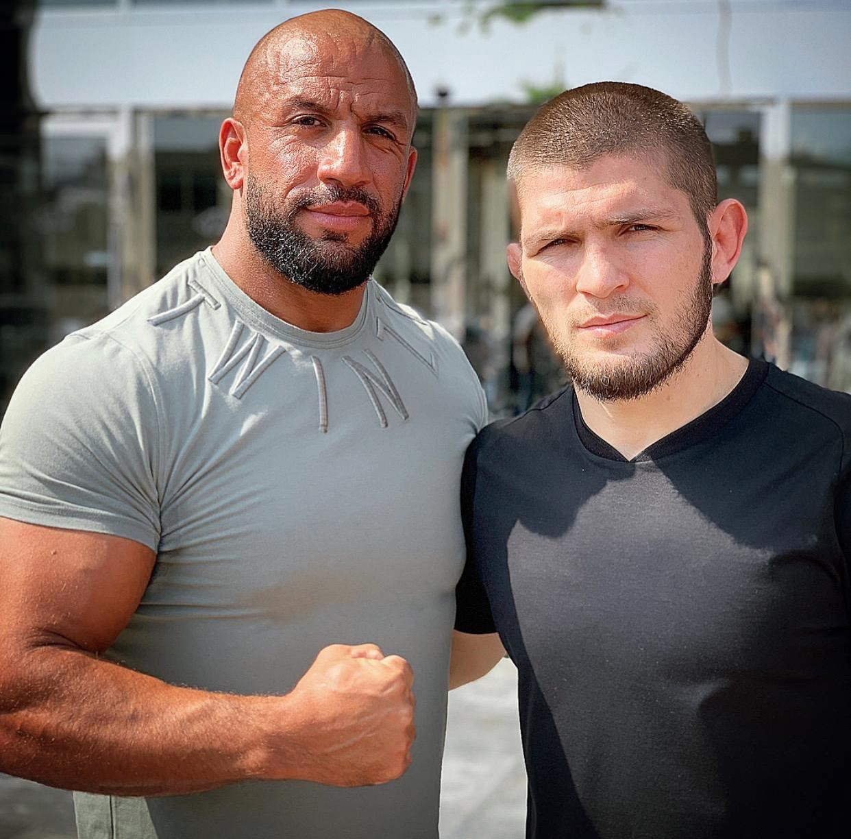 Tam Khan and Khabib Nurmagomedov