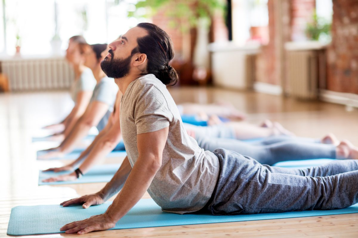 Yoga for men: 'it's not as easy as you think'