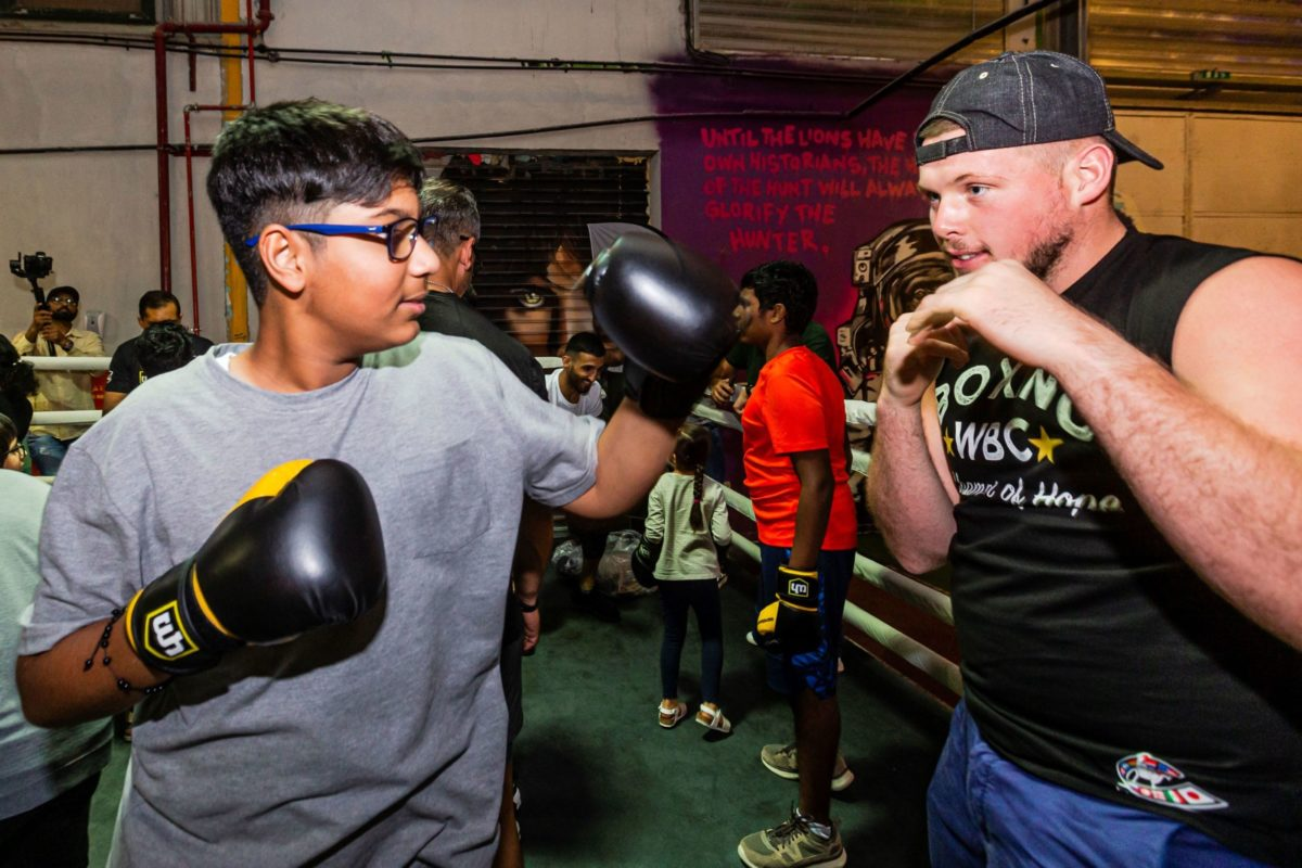 Young people of determination get moving with boxing