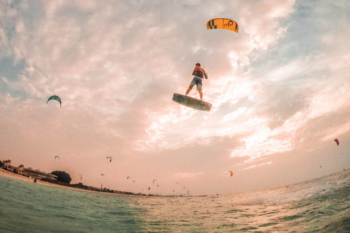 Kite N Surf: 'Whenever it's windy, we are on the beach'