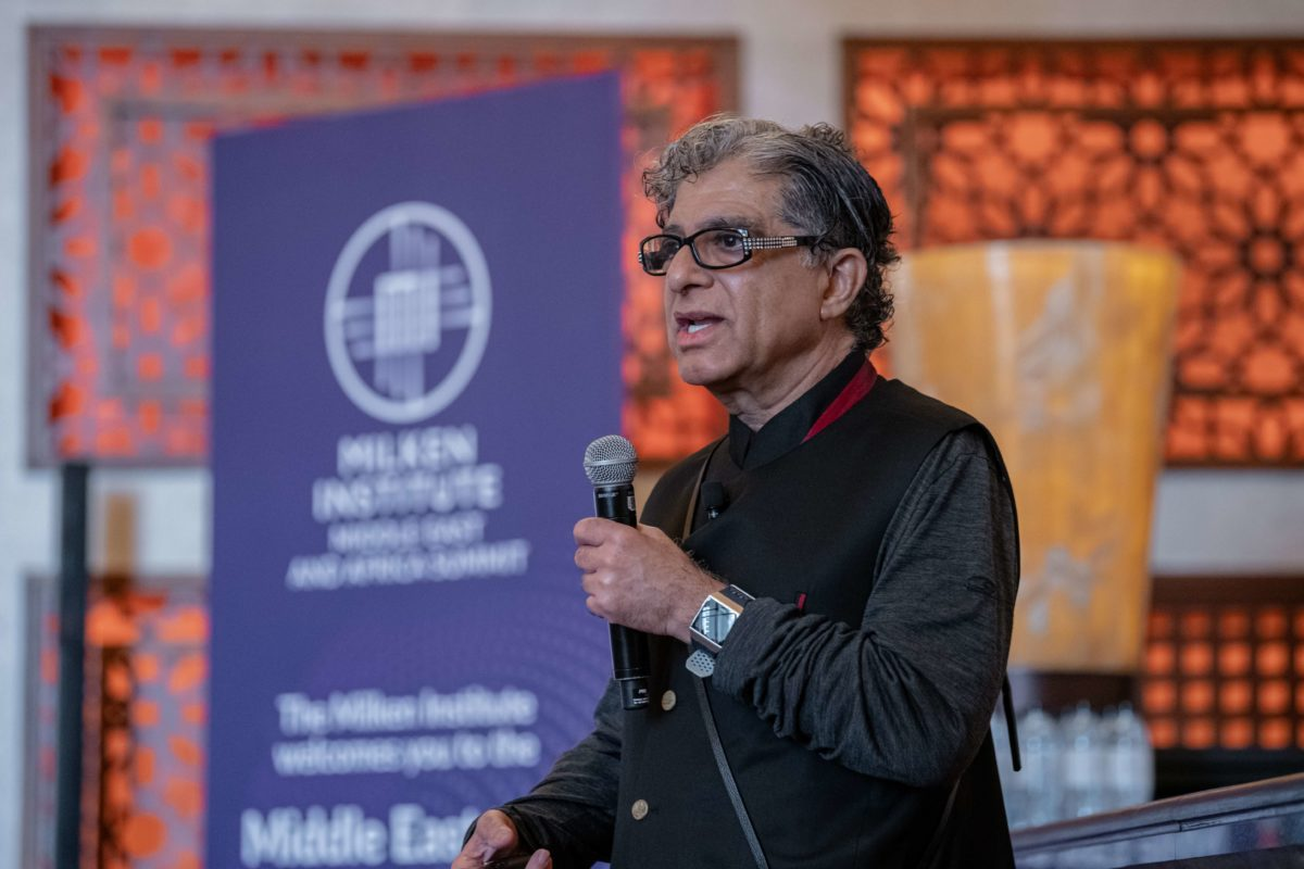 Deepak Chopra: 'The UAE is moving faster than anywhere else'