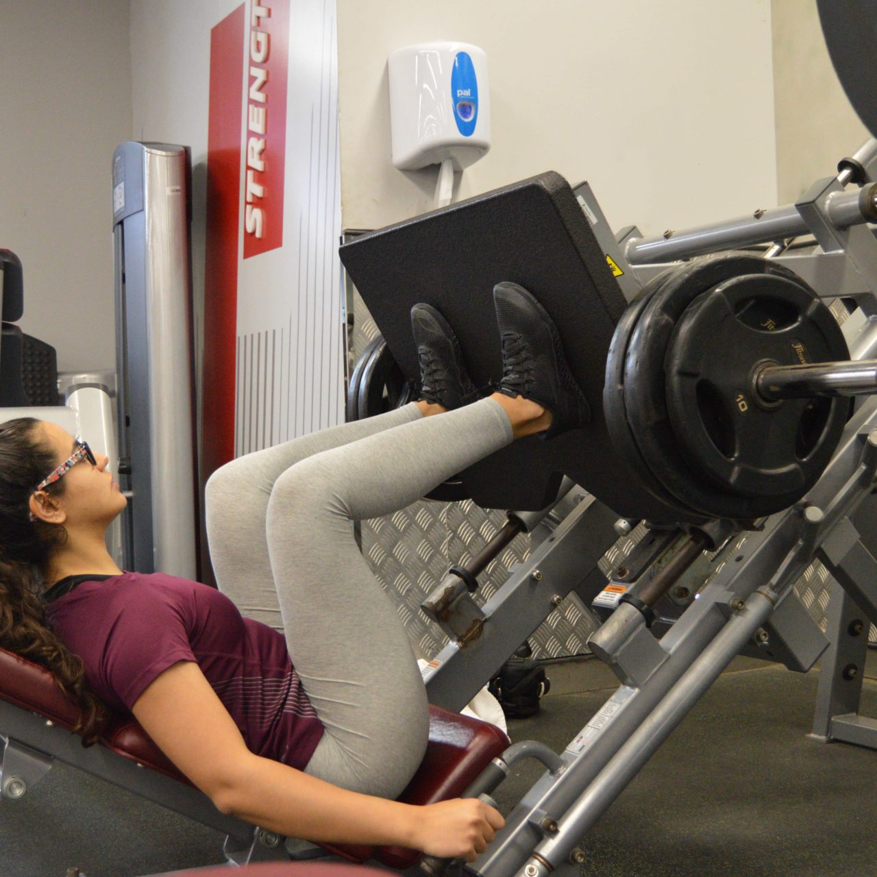 'Ladies, you won't get bulky from lifting weights'