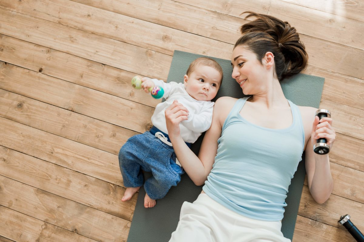 Chapters supports Abu Dhabi moms in pre and postnatal fitness