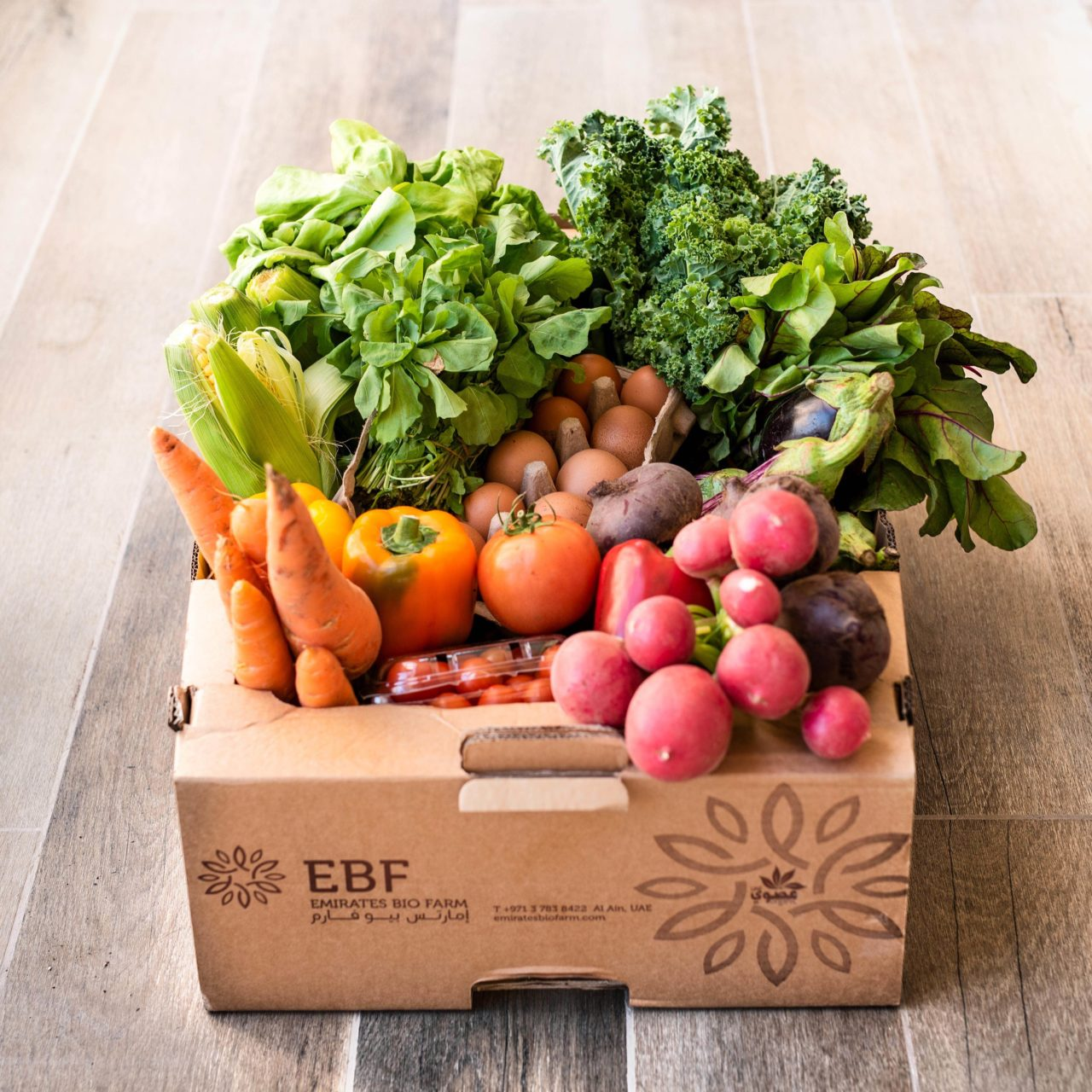 Emirates Bio Farm box