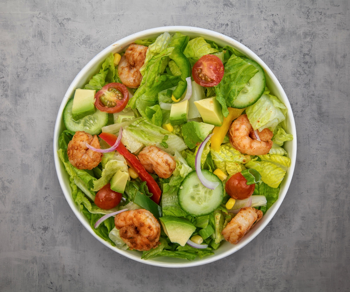 Richy's - Signature Salads, Bowls and Wraps lentil soup, cajun tycoon or mighty wasabi
