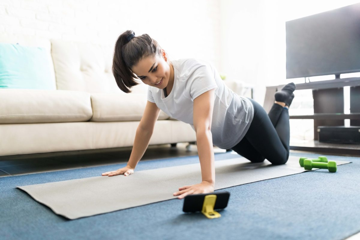 UPDATED: How to work out (and chill out) at home