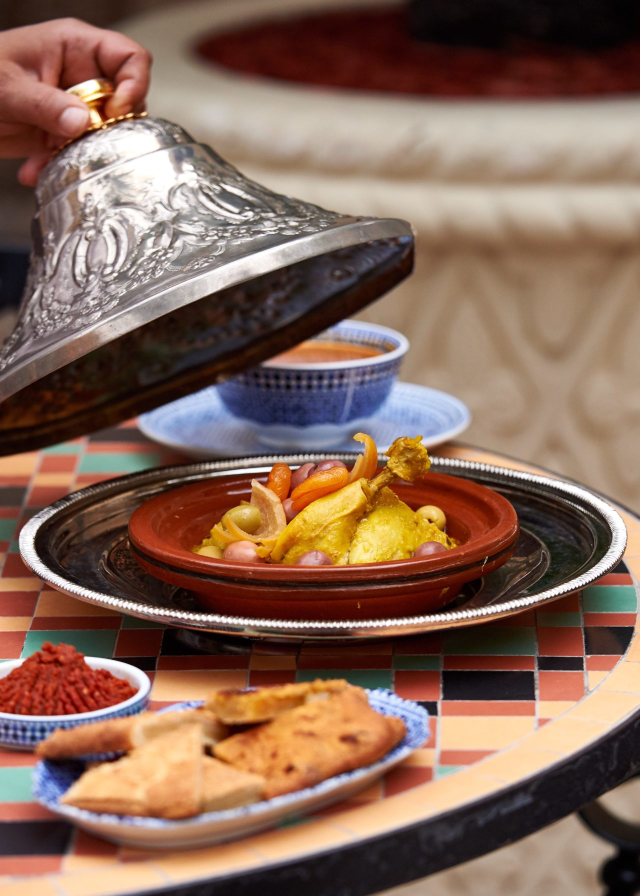 Ramadan recipe Tagine Chicken Makful