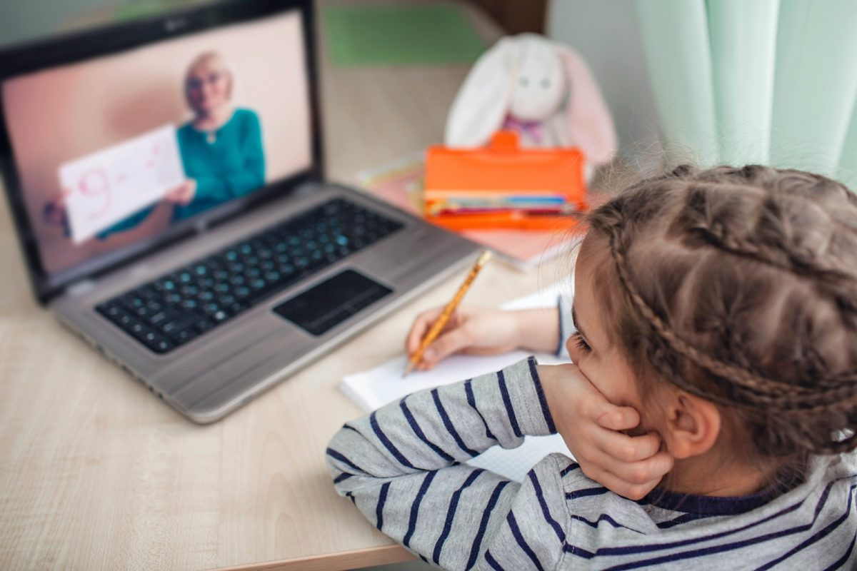 Distance learning damaging my kids