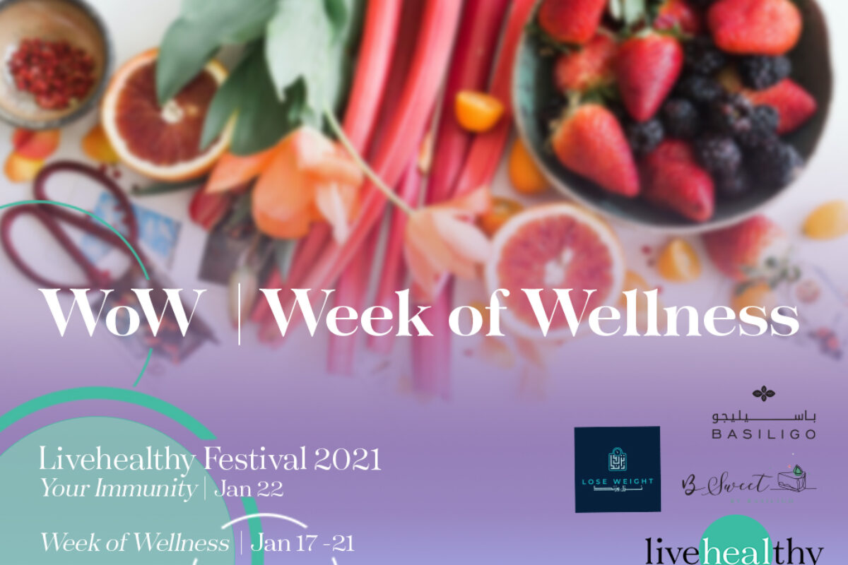 Week of Wellness discounts at Livehealthy Festival 2021