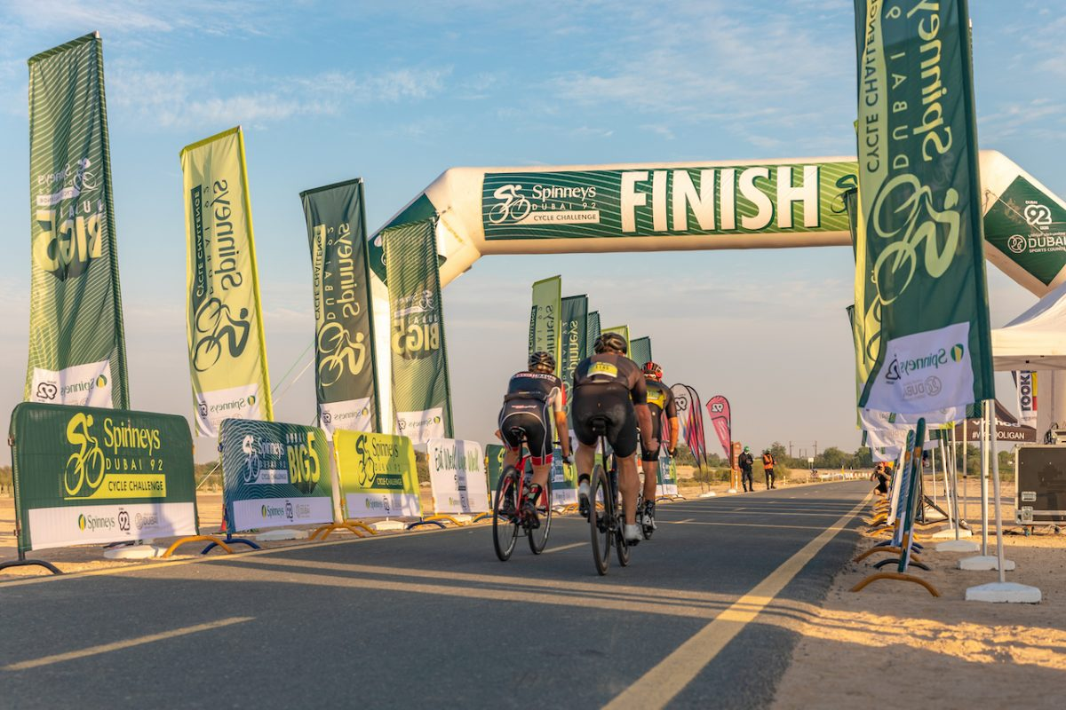 There's still time to compete in the Spinneys 92 Dubai Cycle Challenge