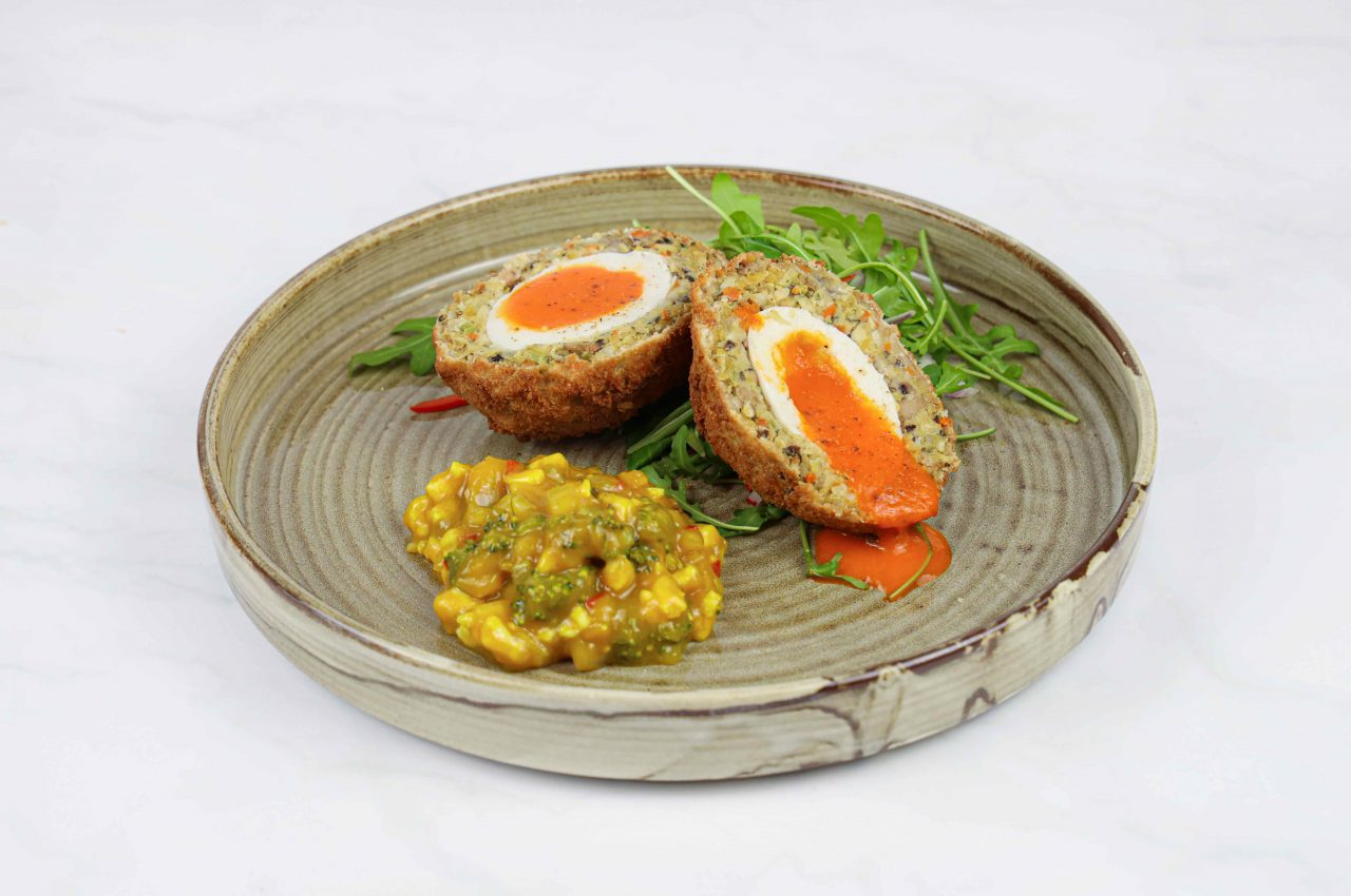 vegan scotch egg