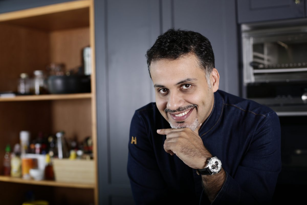 Meet Chef Faisal, restaurant guru