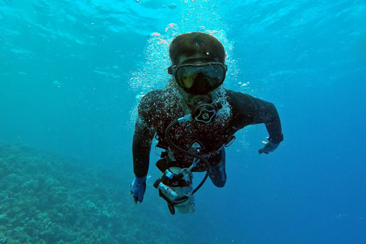 How Faisal Al Mosawi turned the tide to break diving record