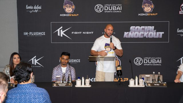 Fight Night press conference