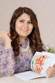 Dimple Khitri - Dubai born restauranteur and Author of Being Rawesomely Vegan