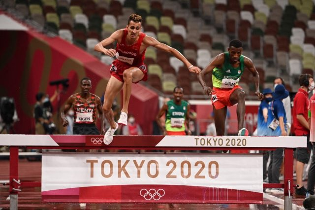 Olympic gold steeplechase