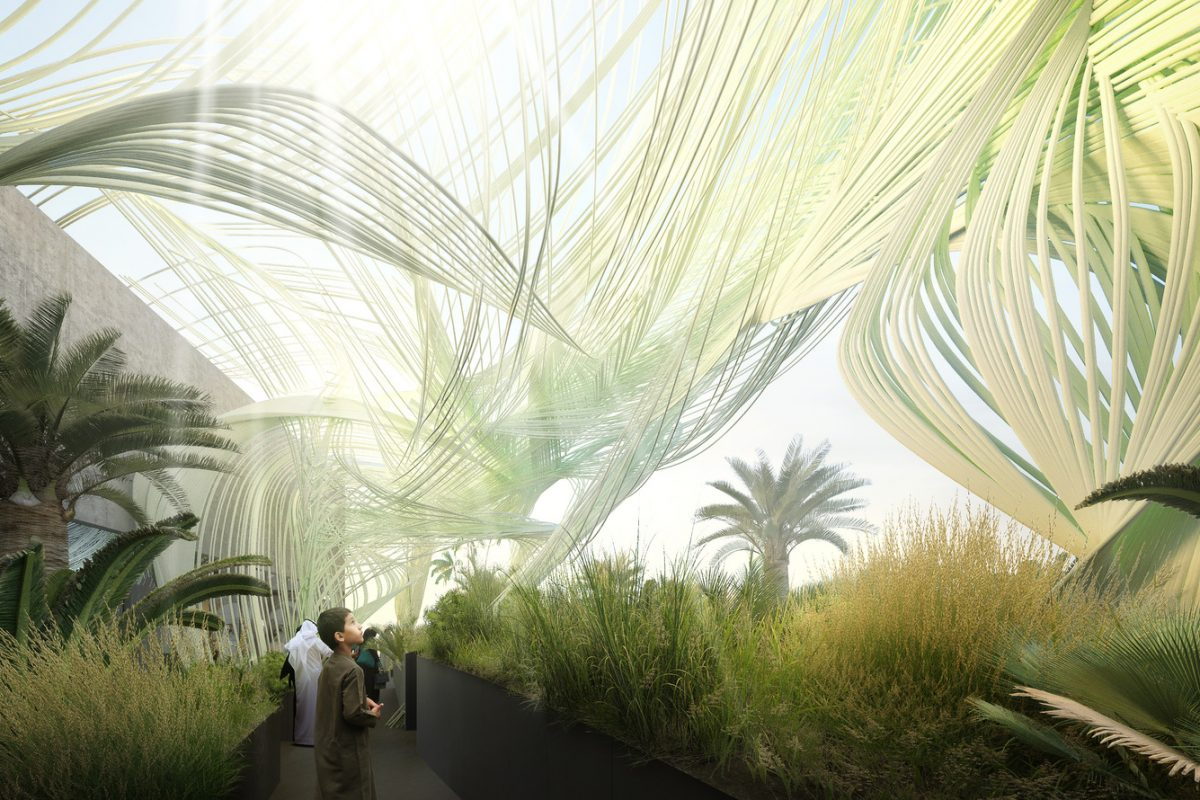 Sustainability is all around Expo 2020